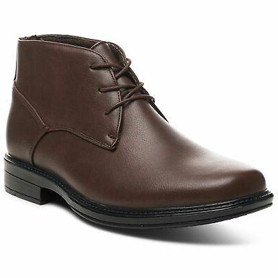 Alpine Swiss Mens Boots Casual up NW