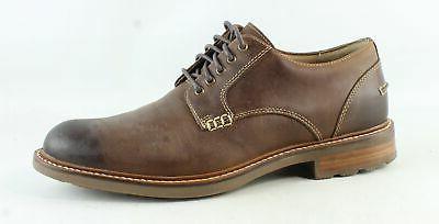mens annapolis brown oxford dress shoe size