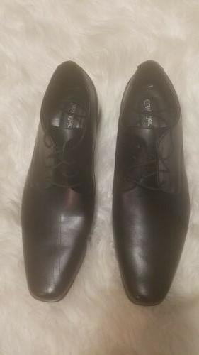 Mens Black Calvin Klein Dress Casual Shoes  Size 14