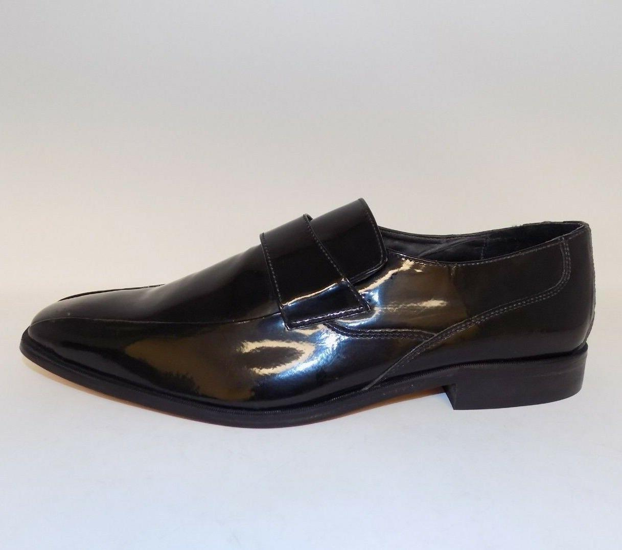 Stacy Adams Mens Patent Slip Dress Shoes 11