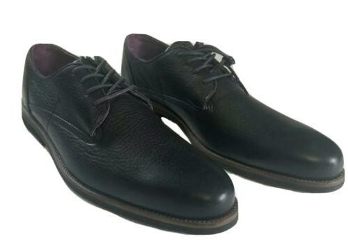 Blackstone Black Leather Dress Special Occasion sz 9