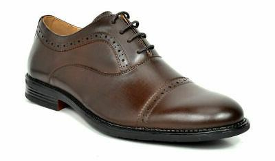 Bruno Marc Mens Brogues Leather Lace Up Casual Formal Weddin