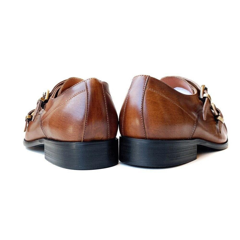 Mens Genuine Double Dress Shoes 10