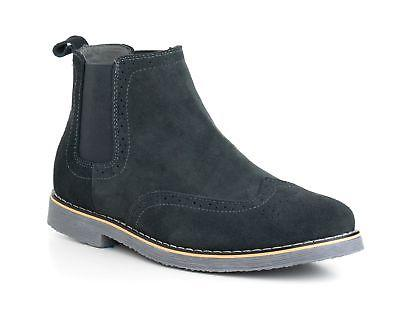 Alpine Swiss Boots Genuine Suede Dress Ankle Boots