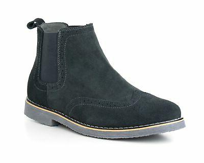 Alpine Swiss Mens Boots Ankle Boots