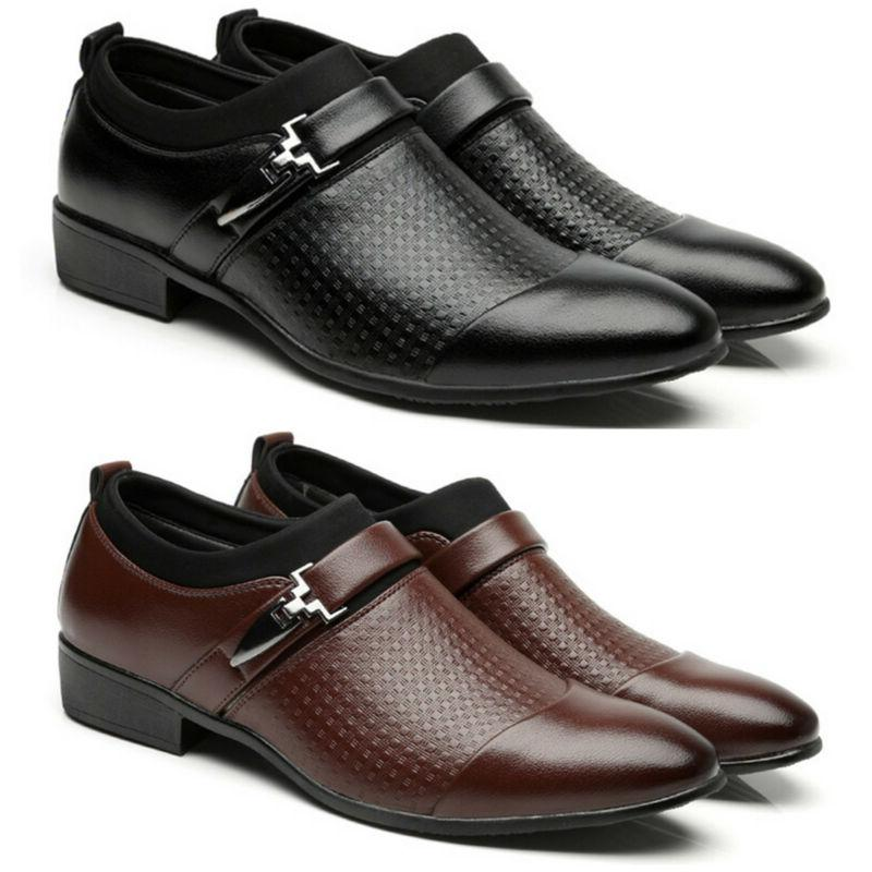 Men's Oxfords Casual Pointed Dress Formal Work