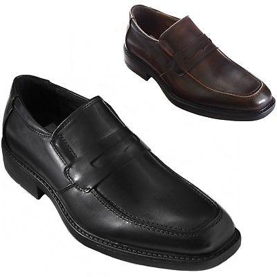Alpine Swiss Mens Dress Shoes Classic Penny Loafers Slip On