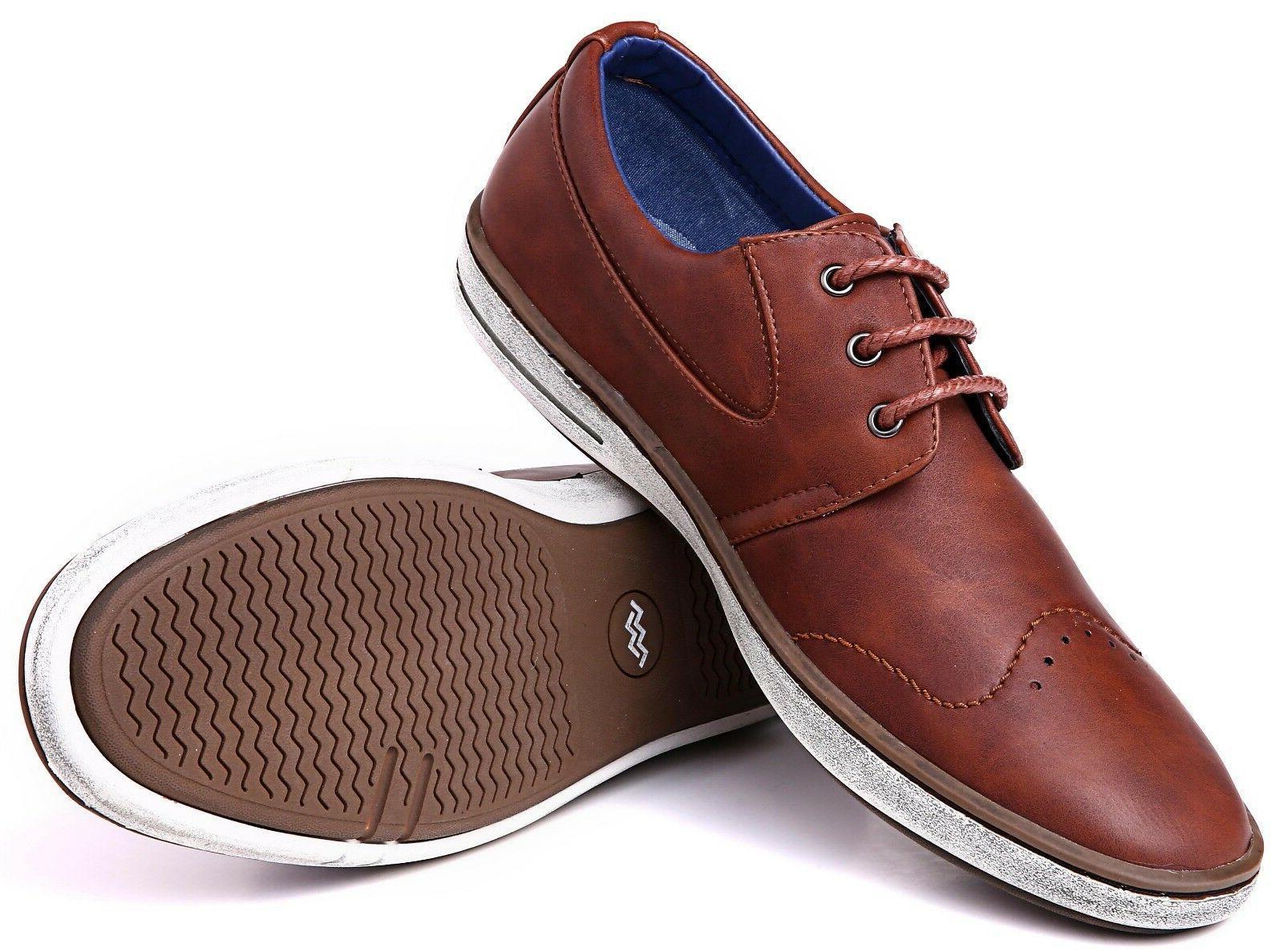 mens dress shoes fashion casual oxford shoes