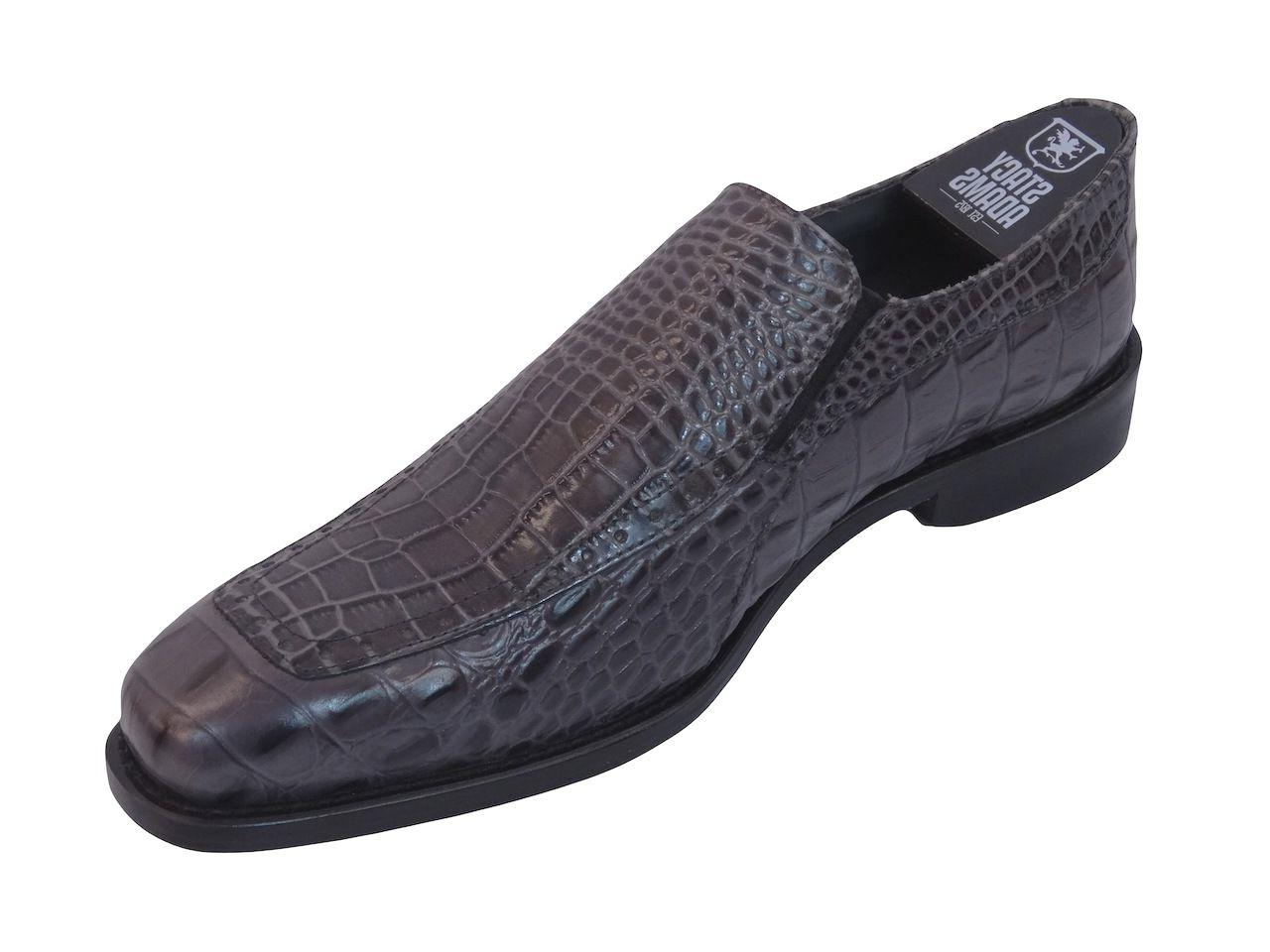 Shoes PARISI 24903 Gray Moc Loafer 8