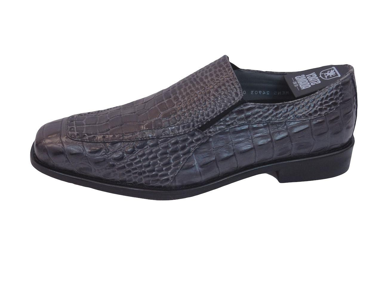 Mens Stacy Shoes Moc Loafer Leather