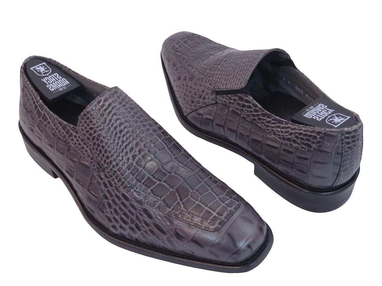 Mens Stacy Shoes Moc Toe Loafer