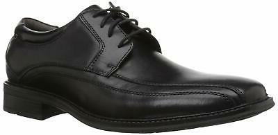 mens endow leather oxford dress shoe blac