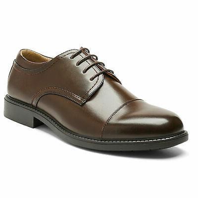 Bruno Marc Mens Formal Dress Leather Lined Plain Oxfords