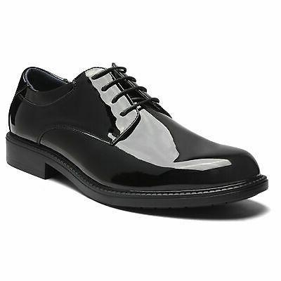 Bruno Marc Mens Formal Dress Shoes Plain Toe Oxfords Shoes