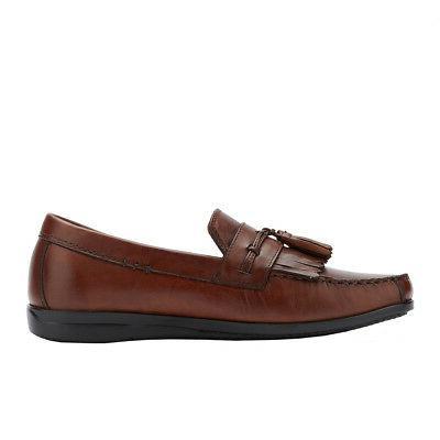 Dockers Mens Leather Slip-on Shoe