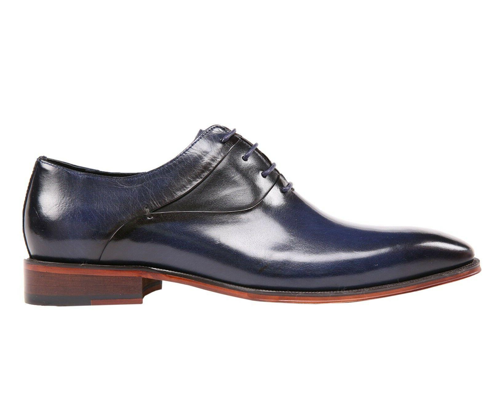 Leather Cap Toe Up Oxford Shoe : AG609