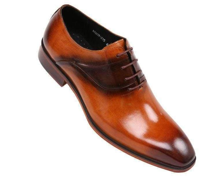 Leather Cap Toe :