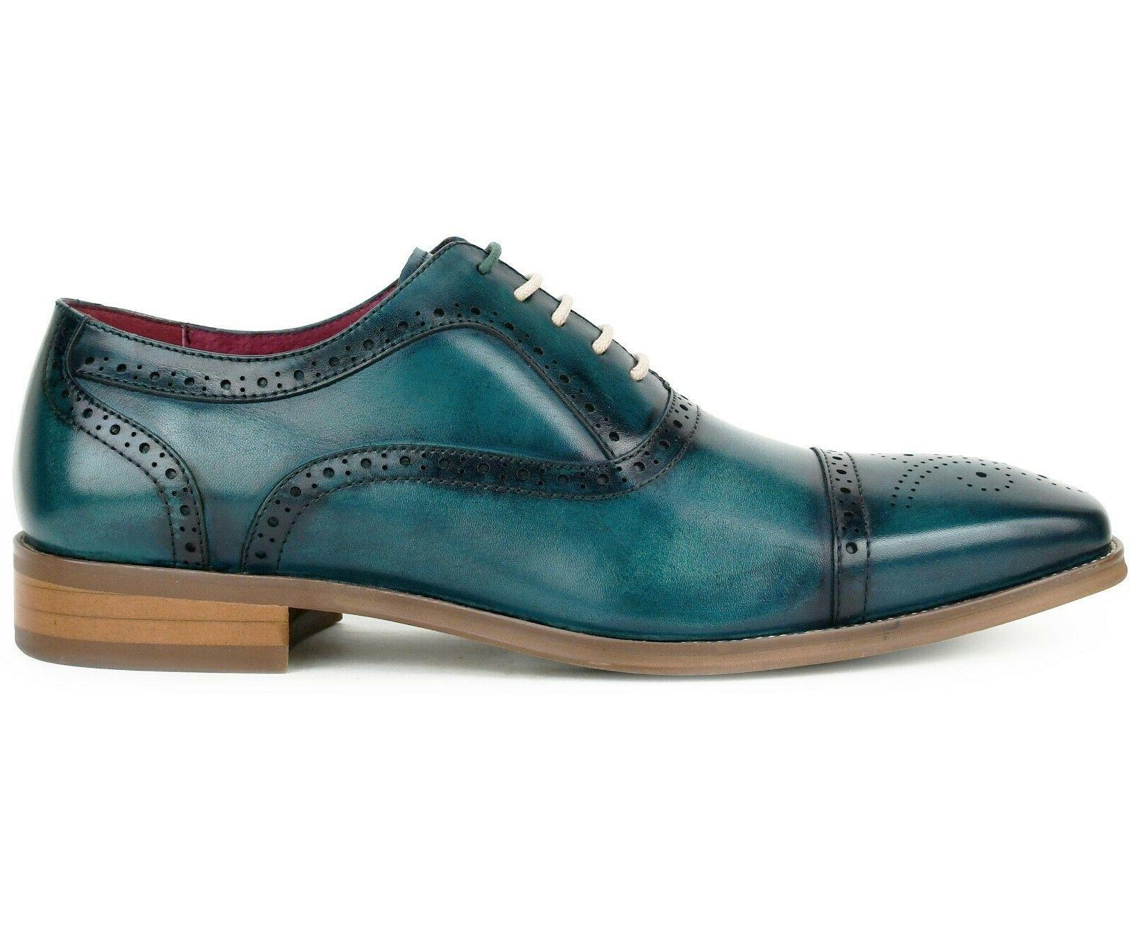 Men's Dress Shoes Genuine Leather Oxfords, Dress