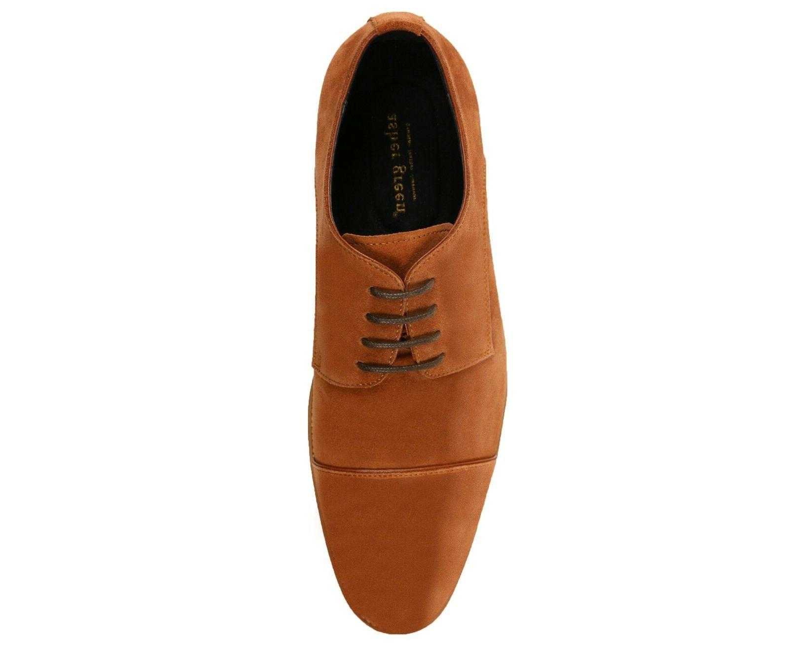 Asher Mens Suede Up Oxford Dress : AG3889