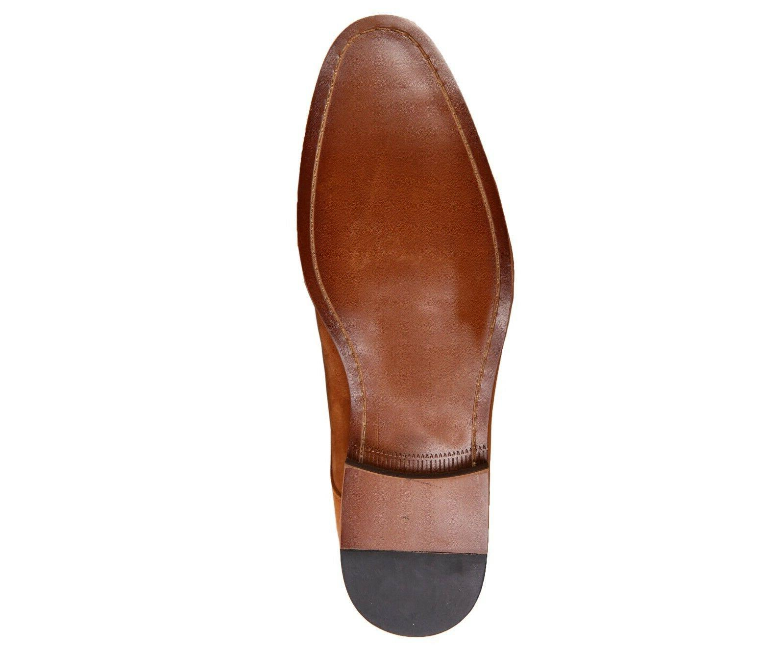 Asher Genuine Suede Cap Up Dress Shoe : AG3889