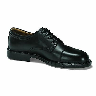 Leather Casual Toe Oxford Shoe