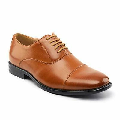 Bruno Mens Dress Lace-up Oxfords Shoe