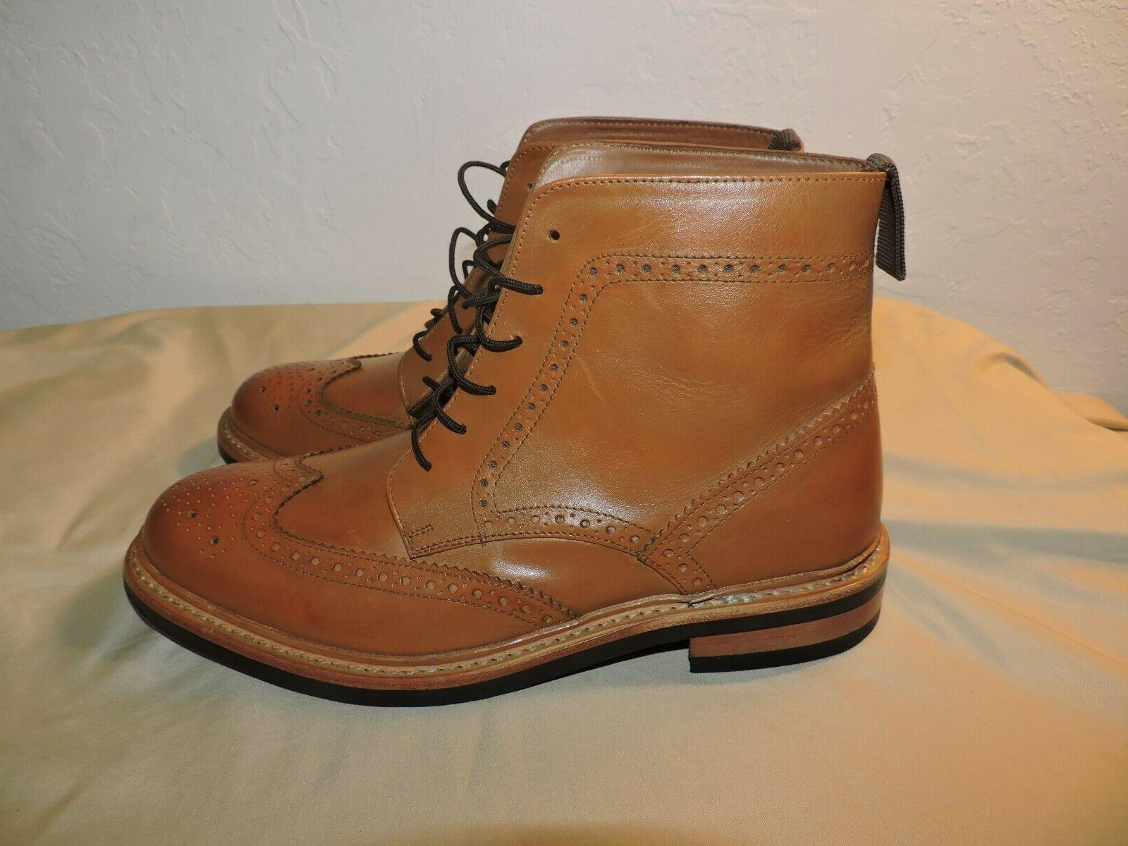 mens leather rubber sole goodyear welted oxford