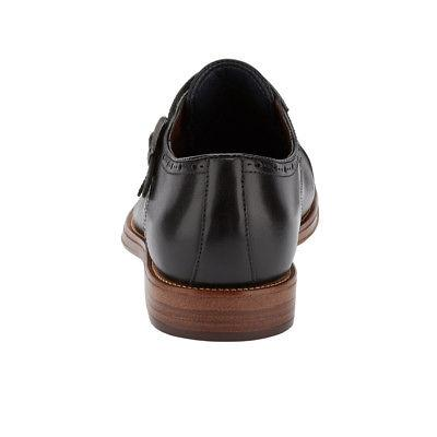 Dockers Maycrest Leather Dress Monk Strap Lace-up Oxford Shoe