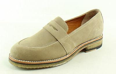 mens melrose tan loafers size 9 5
