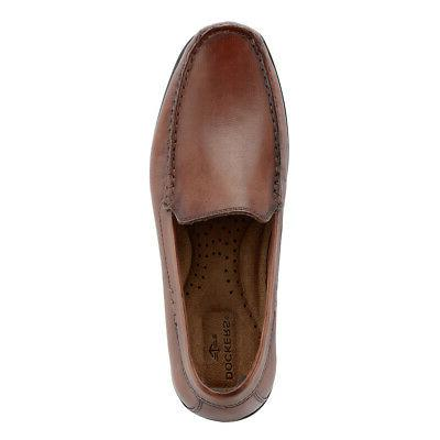 Dockers Mens Leather Slip-on Comfort Loafer Driver Shoe