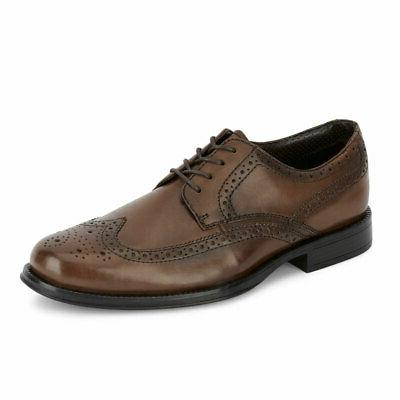 mens moritz brogue genuine leather dress wingtip