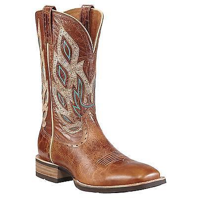 Ariat Mens Nighthawk Wide Square Toe Cowboy Dress Boot Beast