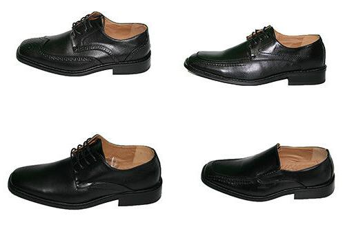 mens oxford dress shoes lace up leather
