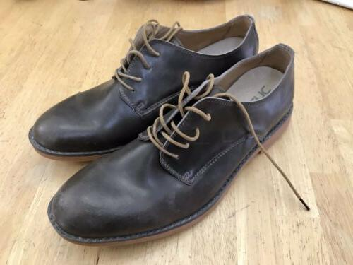 mens oxford shoes brown size 13