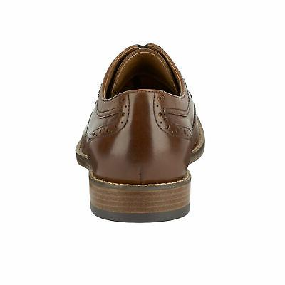 Dockers Mens Dress Rubber Wingtip Shoe