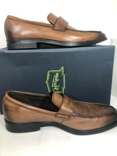 ECCO Size EU 48 Brown Slip-on Loafer Shoes