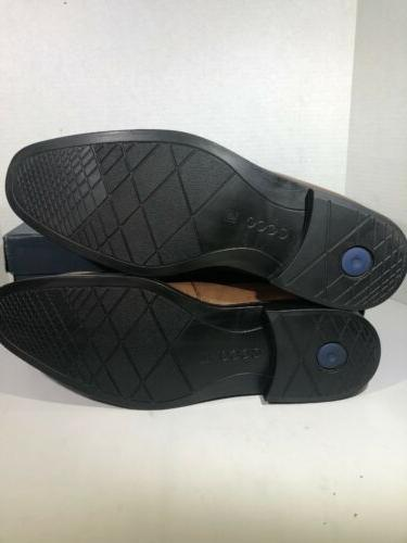 ECCO EU 48 Brown Slip-on Penny Shoes TC-187