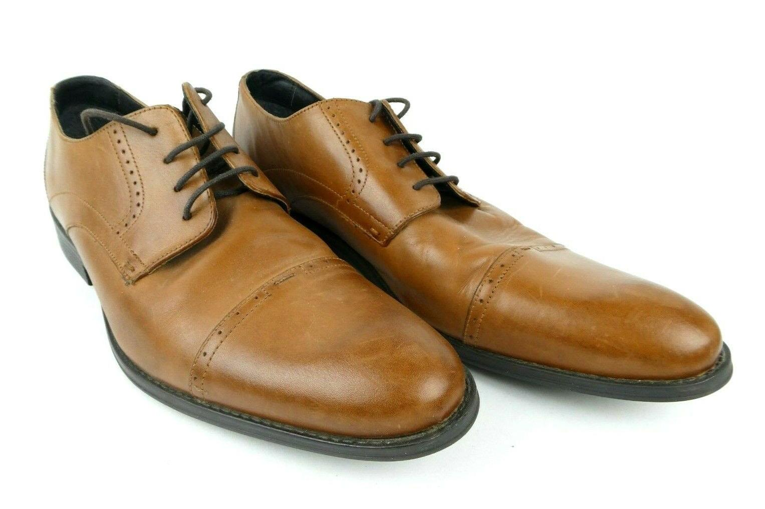 mens size 15 radford oxford brown leather