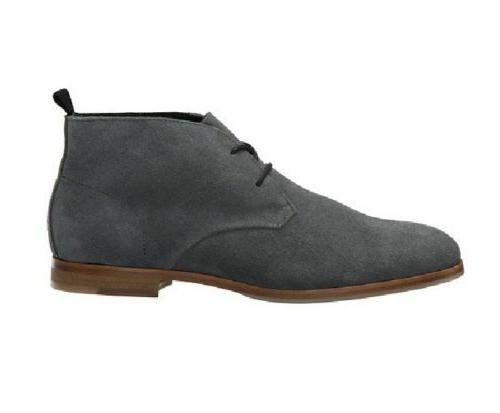 Mens Leather Dress Shoes Casual Suede Leather Boots