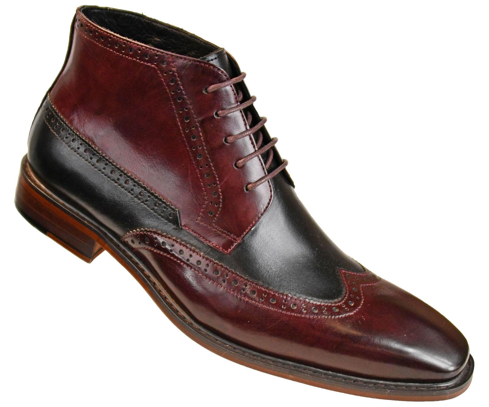 Asher Green Mens Two Tone Calf Wingtip Oxford : AG2023
