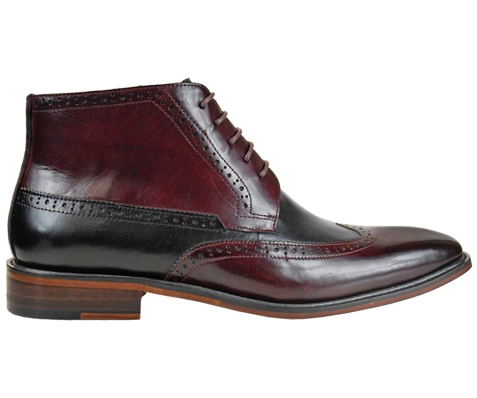 Asher Green Mens Tone Wingtip Style AG2023