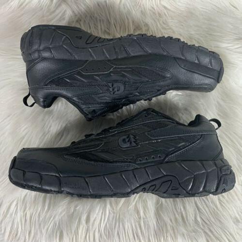Dunham Black Leather Work Oil Resistant D