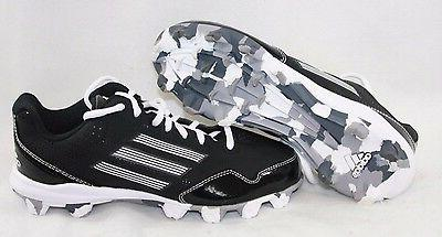 NEW Boys Girls ADIDAS Wheelhouse 2 D73935 Black Baseball Sof
