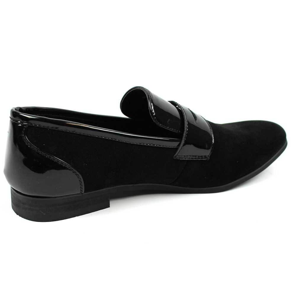New Black Shoes Patent/Suede Leather AZAR
