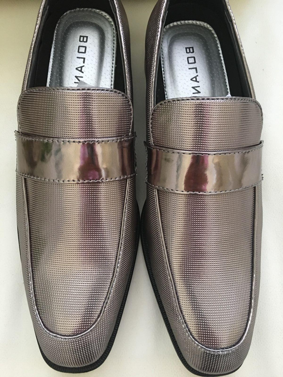Bolano Men Shoes Loafer Slip Prom Shoes.