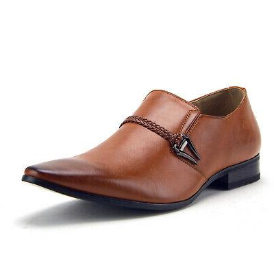 New 98105 Slip Belted Loafers Shoes
