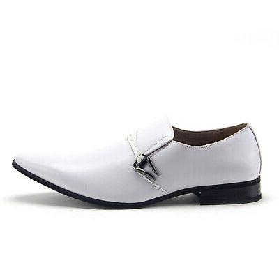 New Slip On Belted Casual Dress Shoes