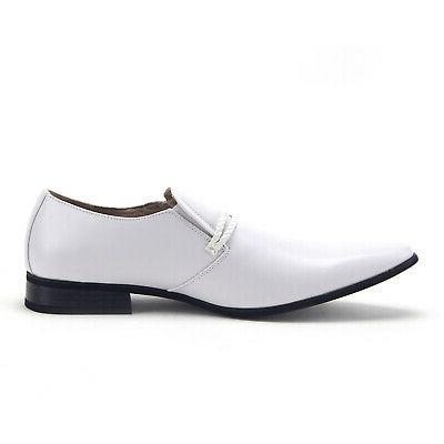 New 98105 Slip Toe Belted Casual Shoes