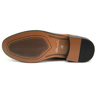 New Men's / Brown High Toe Lining