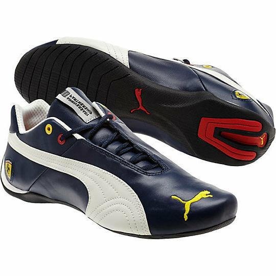 NEW* Men's PUMA FERRARI FUTURE CAT SF 10 Dress Blue Mystic 3